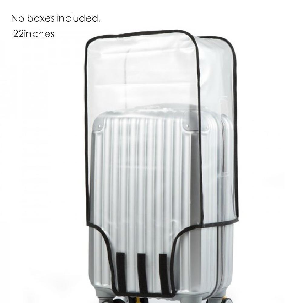 Awhao Protecteurs de bagage pour valise PVC Clear Suit (20à 30)