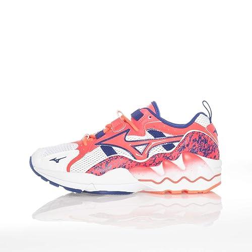 5d76af9a323e Mizuno Sneakers Donna Wave Rider 1 D1GA192560 (41 - White-Blue-Orange)