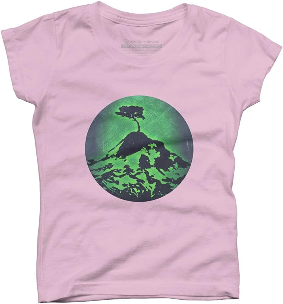Lonely Tree Girls Youth Graphic T Shirt Design By Humans