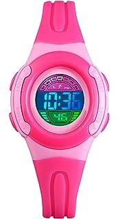 Kinder Uhr Skmei Sport Kinder Junge Mädchen Led Digital Alarm Stoppuhr Wasserdicht Armbanduhr Kinder Kleid Uhren Uhren Bequemes GefüHl Uhren