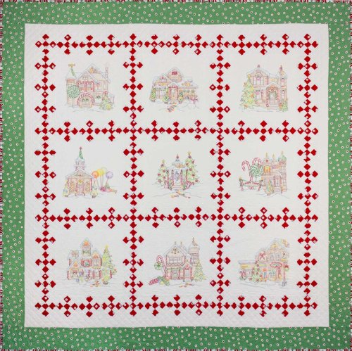 (Gingerbread Square Block of the Month Kit)