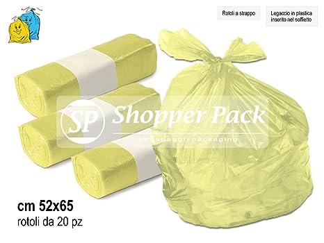 Bolsas Basura, basura, reciclaje colores amarillo/morado ...