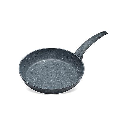 WIHYY Sartén Plana Utensilios De Cocina Multifuncional Sartén Antiadherente Sin Humos Hogar Aleación De Aluminio Negro