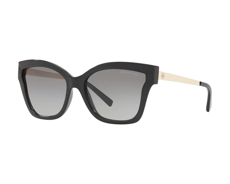 233820a23a Amazon.com  Michael Kors MK2072 333211 Black Barbados Square Sunglasses  Lens Category 2 Siz  Michael Kors  Clothing