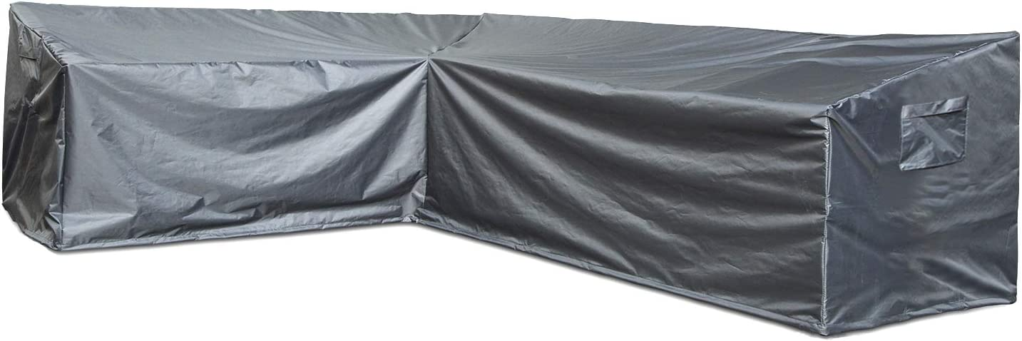 Outdoor Patio Sofa Covers, Waterproof Outdoor Furniture Cover All Weather Protection (Left-Facing)
