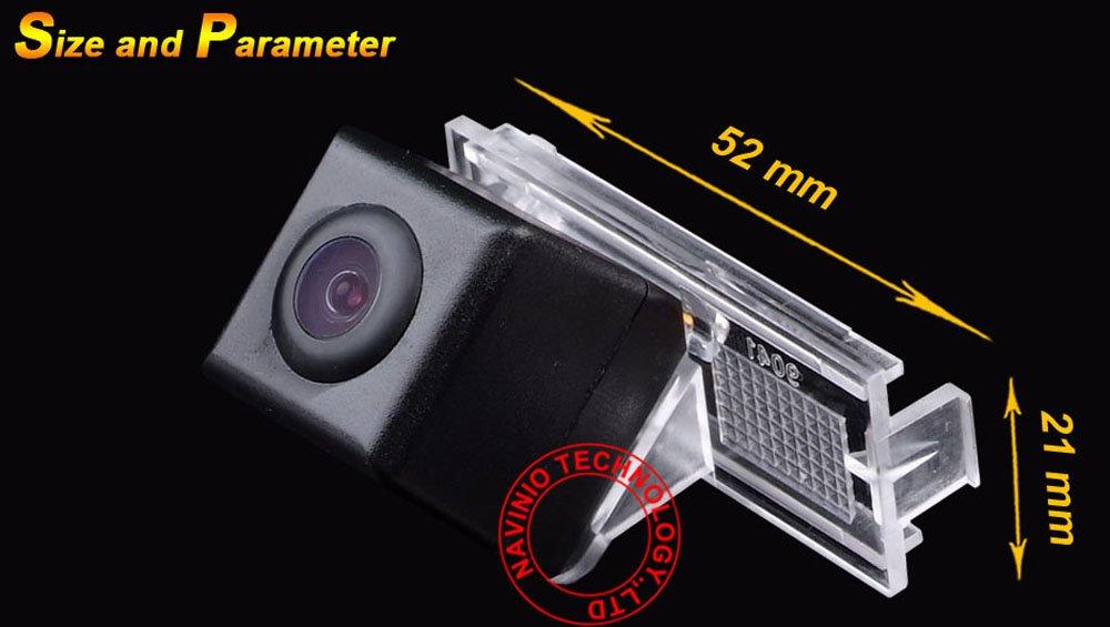 //307CC 13 ~ 15 hayon //C2 C4 DS3 Elysee kalakass CMOS cam/éra Syst/ème arri/ère voiture de recul avec fonction vision nocturne Haute D/éfinition et large angle parfaite pour 301//308//408//508//C5//3008////307