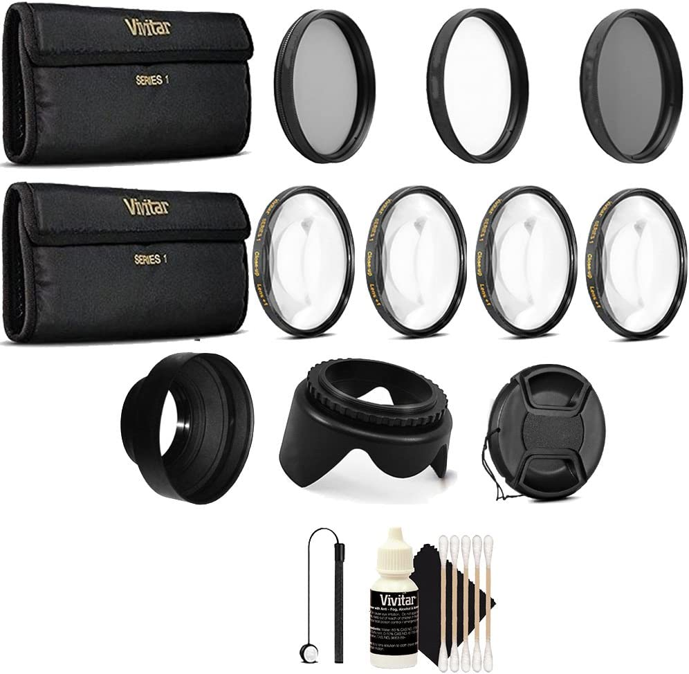 52MM Close Up Macro Lens Kit for Nikon D7200 D7100 D5500 D5200 D3300 D3200 D3100