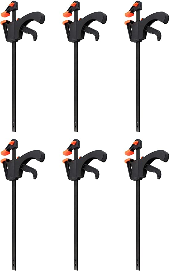 4x Schnellspannzwinge 900 mm Einhandzwinge Klemmzwinge Schraubzwingen
