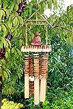 Fait main en bambou 6Tube Carillon éolien avec Bouddha