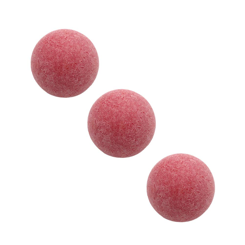 Rojo Vosarea Juego de 6 Bolas de reemplazo de futbol/ín y futbol/ín de Mesa Juego de Mesa Mini