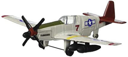 Daron Worldwide Trading Runway24 P51 Tuskegee Airmen Vehicle