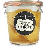 Marokkanische Salzzitronen (eingelegte Zitronen) - 500 g Glas
