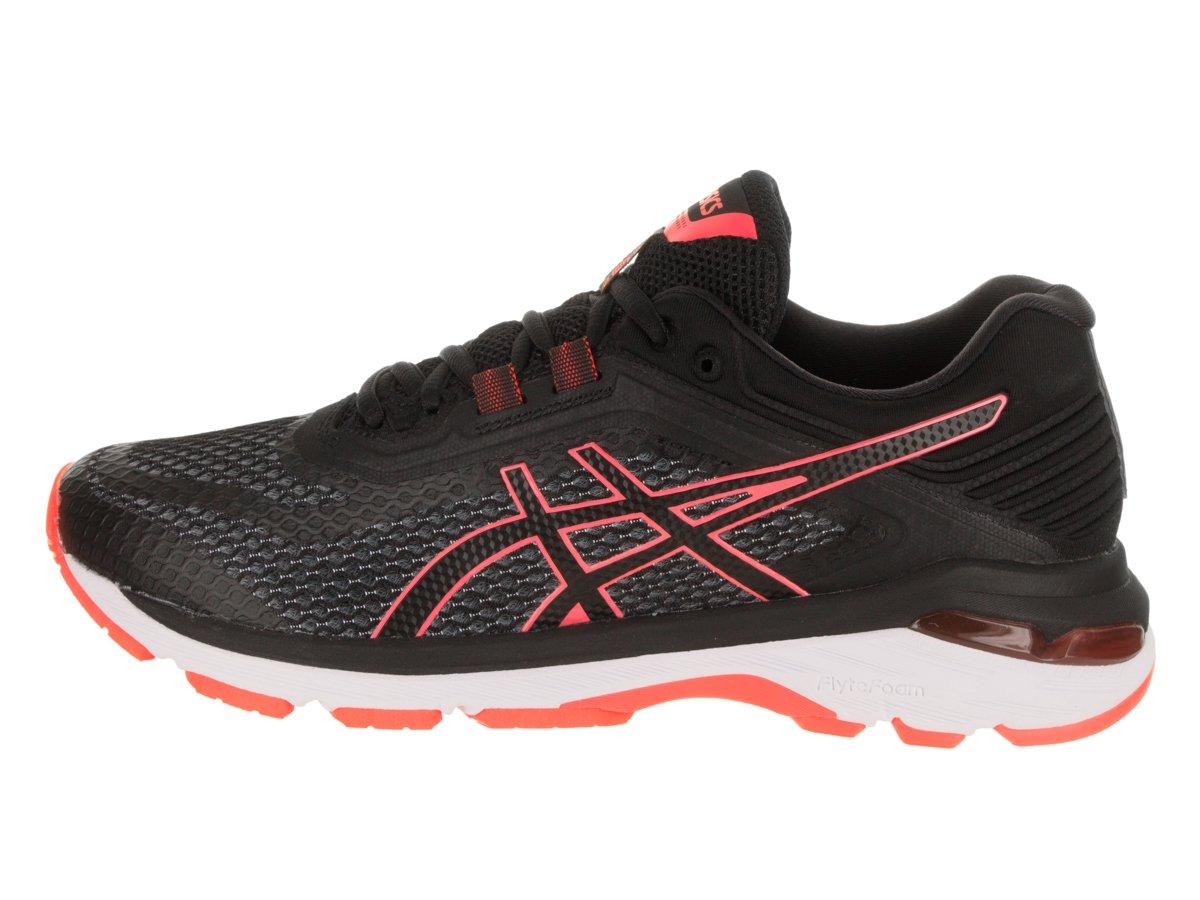 ASICS Women's GT-2000 6 Running Shoe B077QJ3DY6 12 B(M) US Black/Flash/Coral