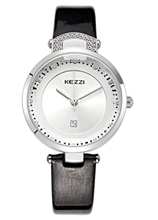 Amazon.com: Kezzi Womens Watch Fashion Quartz Cutting Glass ...