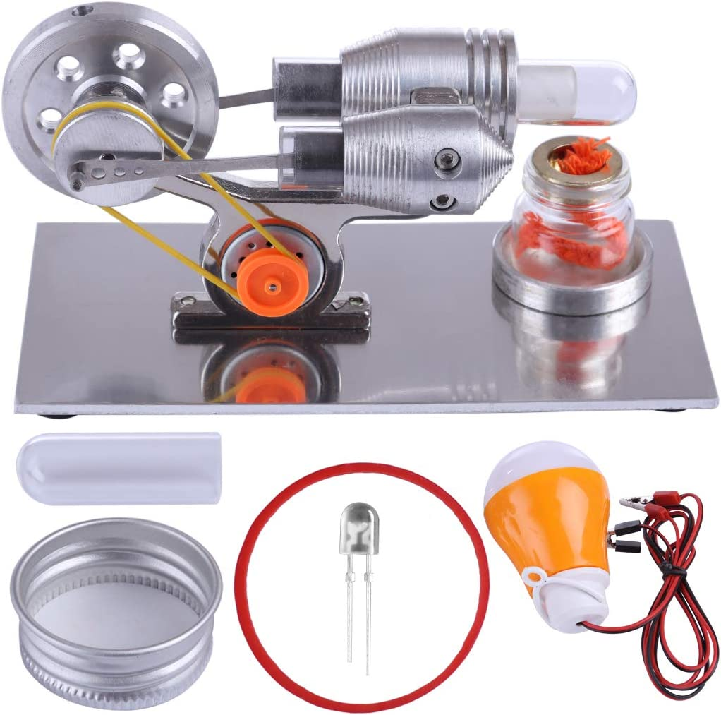 Foxom Creative Motor Stirling Engine, Motor Generador de ...