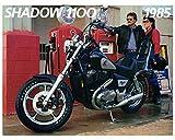 1985 Honda Shadow 1100 VT1100C Motorcycle Factory