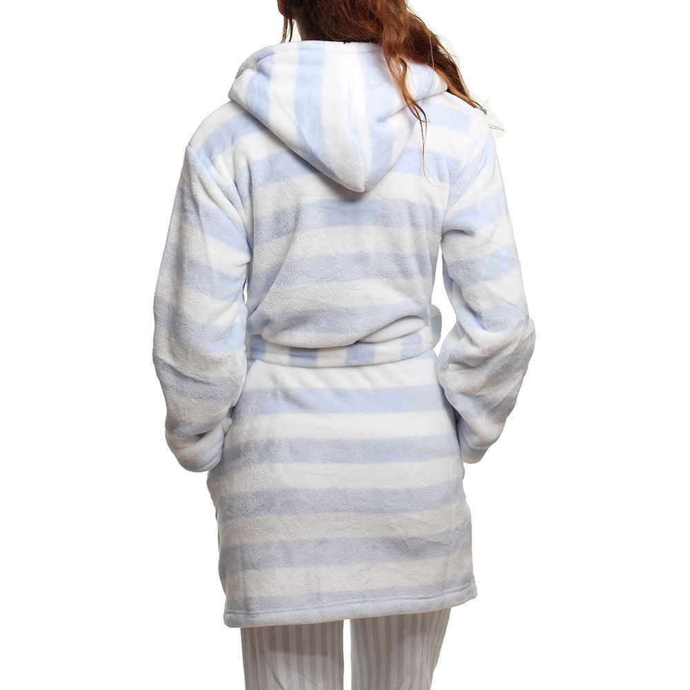 60% Rabatt Fabrik authentisch neuer & gebrauchter designer Bedroom Athletics Emily Bademantel Blau/Weiß Gr. 36, blau ...