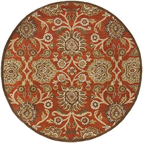 Surya Caesar CAE-1062 Classic Hand Tufted 100% Wool Terra Cotta 9'9