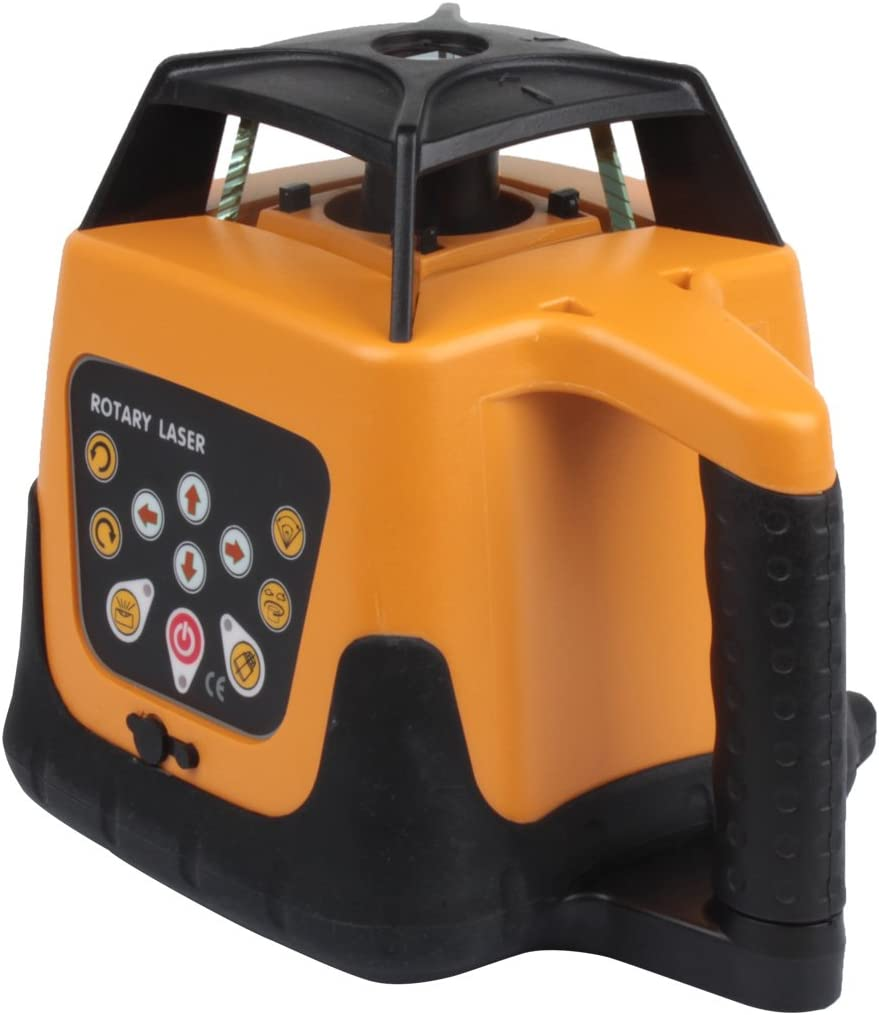 Samger Samger 1.65M Aluminum Tripod 5M Staff Kit for Auto Laser Level Construction Measuring Red Laser Level+tripod+staff