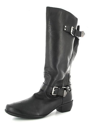 ROMIKA - Anna 11 - Damen Stiefel - Schwarz Schuhe in Übergrößen