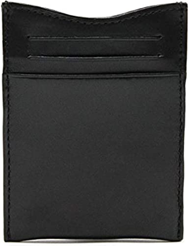 Leather Bifold Money Clip Wallet with Card Slots Italian Leather by Tony Perotti