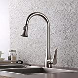 KES Brass Pull Down Kitchen Faucet Brushed Nickel Review and Comparison