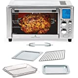 Emeril Lagasse Power AirFryer 360 Better Than Convection Ovens Hot Air Fryer Oven, Toaster Oven, Bake, Broil, Slow Cook and M