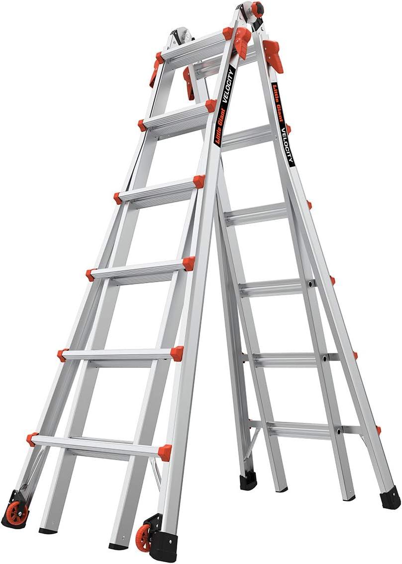 Little Giant Ladder Systems 15413-001 Escalera de velocidad de 13 pies: Amazon.es: Bricolaje y herramientas