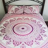 Handmade-Mandala-Double-Duvet-Doona-Cover-2-Pillow-Covers-Quilt-Gift-Tapestry-4