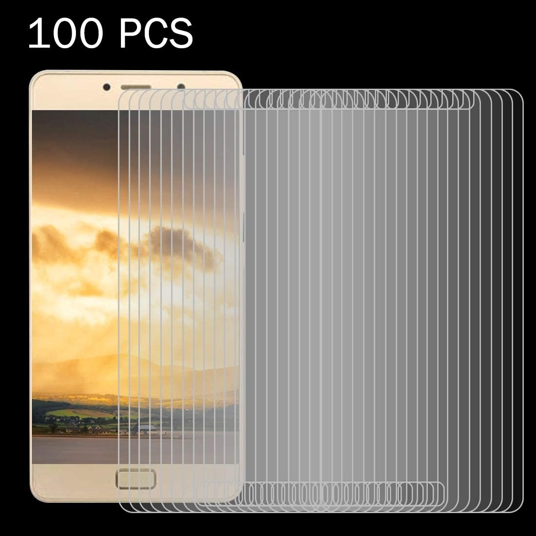 100 PCS for Lenovo P2 0.26mm 9H Surface Hardness 2.5D Explosion-Proof Tempered Glass Screen Film Clear YINZHI Screen Protector Film