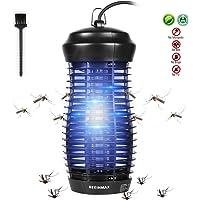 DEKINMAX Lámpara Mata Insectos Electrico Lámpara Anti Mosquitos