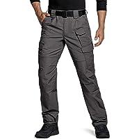 $29 » CQR Men's Tactical Pants, Water Repellent Ripstop Cargo Pants, Lightweight EDC Hiking Work Pants,…