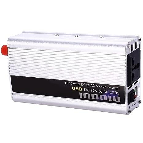 Erneuerbare Energie Useful 2000w Car Power Inverter Dc12v To Ac220v Dual Usb Charger Converter Invert#d Photovoltaik-zubehör