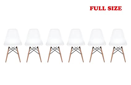 On SaleInspirer StudioR Set Of 6 New 17 Inch SeatDepth Eames Style
