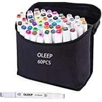 oleep 60 color Touch cinco arte dibujo marcadores