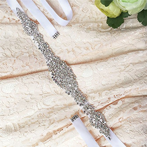 Diamonds Sash Pink Bridal Sash Dress ULAPAN Women's Belt S123 Wedding Crystals Belt f8PqUn5nx