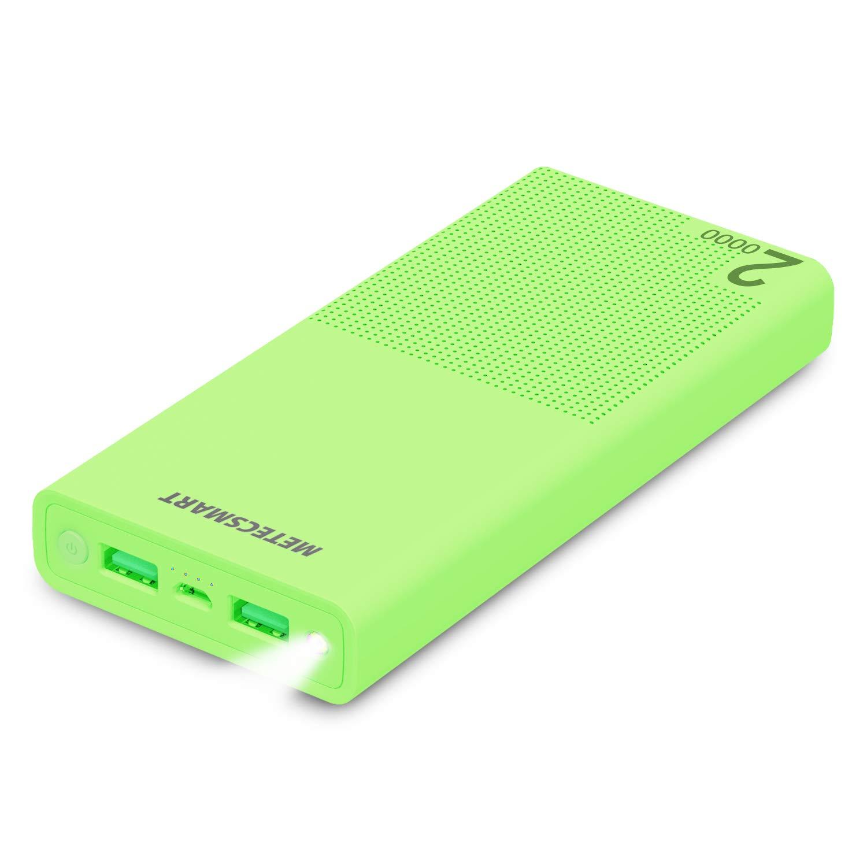 Metecsmart Powerbank - Cargador portátil, 20000 mAh, Color ...