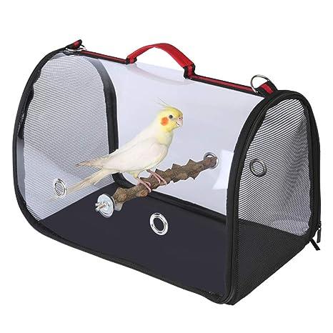 LPxdywlk Portátil Pet Bird Parrots Carrier Transparente ...