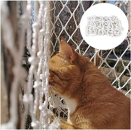 Red de Seguridad Barandilla Protección de Balcón Varios Tamaños Red De Protección Red para Gatos,Red De Seguridad para Mascotas,Red Antipalomas Y Gatos para Balcón, Terraza, Patio Y Ventanas.(Blanco): Amazon.es: Hogar