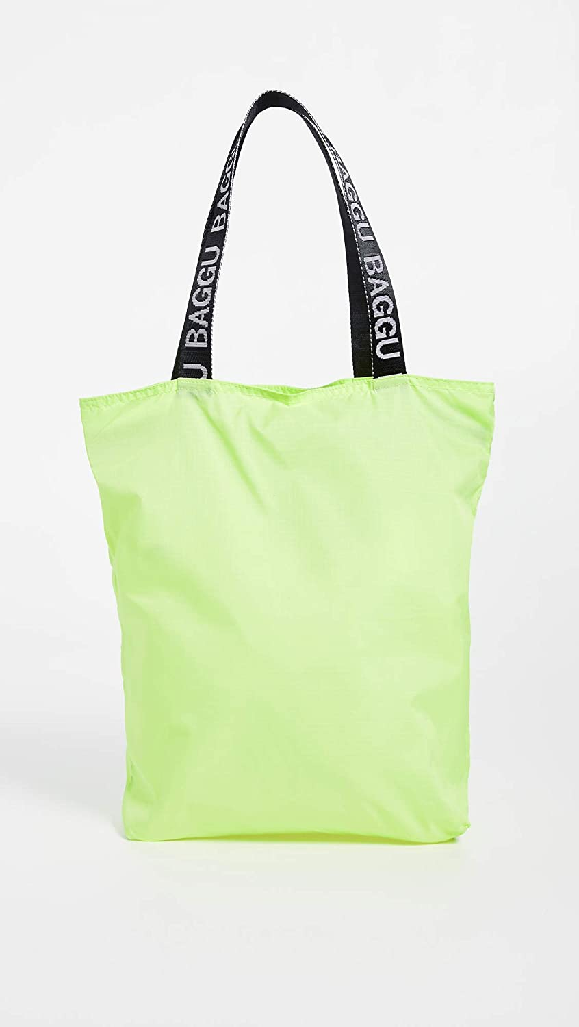 c5f85ddbc961 Amazon.com: BAGGU Women's Ripstop Tote, Lime, Green, One Size: Shoes