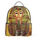 Cheap JSTEL Vintage Egypt Art Pharaoh School Backpacks for Boys Girls Bookbag
