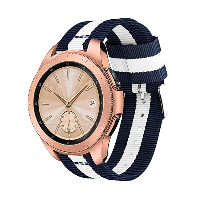 Samsung Galaxy Watch 42 mm 46 mm Banda reakle 20 mm 22 mm Ligero ...