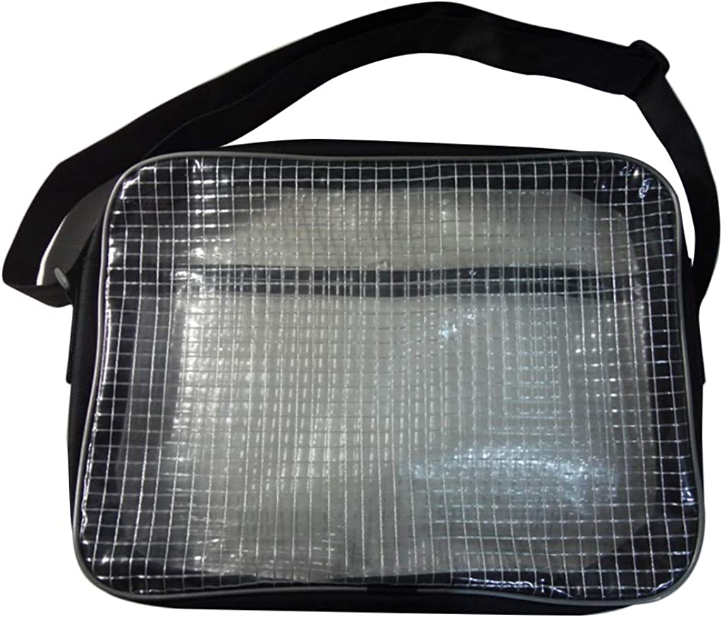 tegse 15.7inch 40 x 8 x 30CM Anti-Static Clear PVC Bag Cleanroom Engineer Tool Bag for Put Computer Tool Working in Cleanroom