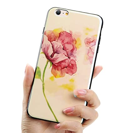 7233adb1e02a1c Image Unavailable. Image not available for. Color: Glad You Came New Ink  Painting Phone Case for iPhone 7 8 Cover for iPhone X