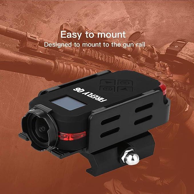 Godyluck Firefly Q6 Airsoft Camera 2.5K HD Cámara de acción Pantalla OLED 120 ° Gran Angular Cámara de Deportes de acción para Airsoft Game: Amazon.es: Juguetes y juegos