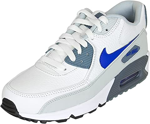 air max 90 leather homme bleu noir blanc
