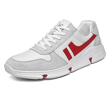 CAI Zapatillas para Hombre/Mujer 2018 Verano/Otoño/Invierno Low-Top Moda Transpirable Zapatos Casuales Amantes Zapatos Ligeros para Correr al Aire ...