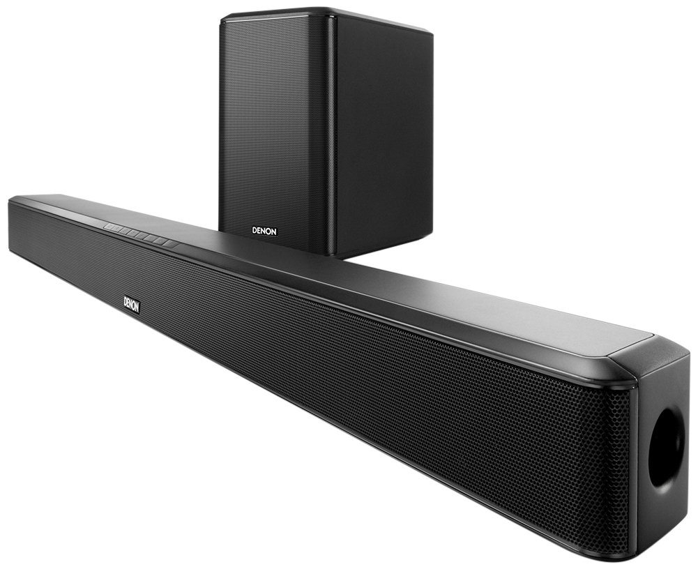 Amazon.com: Denon DHTS514-R Refurbished Home Theater Soundbar System with  HDMI, Bluetooth Streaming and Wireless Subwoofer: Home Audio & Theater