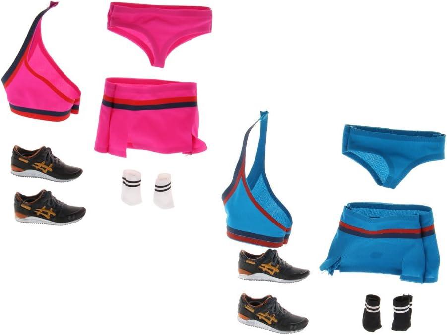 1:6 Scala Uniforme Cheerleader Scarpe Sportivo Corpo Moda Per Aziona Figure 12/'/'