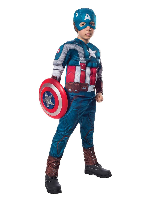 Captain Amerika Deluxe Winter Soldier Kostüm Gr. Gr. Gr. 140-158 8863fb